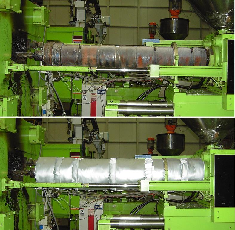 Klevostar Çözülebilir Yastık Sistemi - Plastik Enjeksiyon Makinesi İzolasyonu